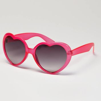 AE Foldable Heart Sunglasses | American Eagle Outfitters
