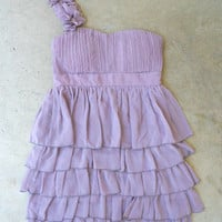 Falling Sweetly Dress in Lavender [2919] - $42.00 : Vintage Inspired Clothing &amp; Affordable Summer Dresses, deloom | Modern. Vintage. Crafted.