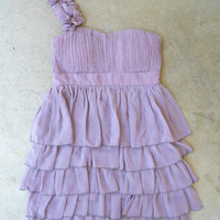 Falling Sweetly Dress in Lavender [2919] - $42.00 : Vintage Inspired Clothing & Affordable Summer Dresses, deloom | Modern. Vintage. Crafted.