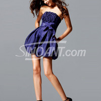 Buy Beautiful Regency Strapless Neckline A-line Mini Taffeta Cocktail Dress   with 108.99-SinoAnt.com