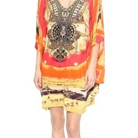 Bat Sleeve Cover Up Dress