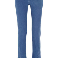 Acne Studios Orlando cotton-flannel skinny pants – 69% at THE OUTNET.COM