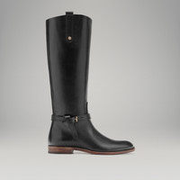 BLACK RIDING BOOT - View all - Shoes - WOMEN - Italia/Italy