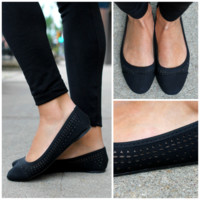Starry Night Flat - BLACK /