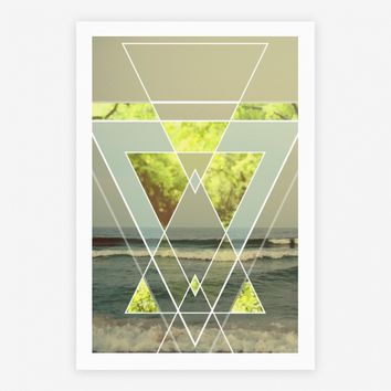 Trendy Geometric Outdoor Triangles