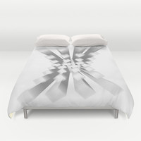Whitey X Duvet Cover by Obvious Warrior