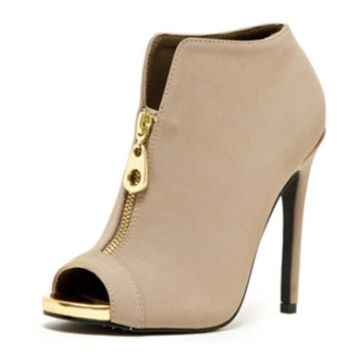 Love HER Style | Glee Peep Toe Bootie | Love Couture LA | For Fabulous Girls, For Dreamers, For Shopaholics.