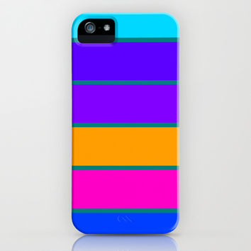 Happy Stripes #3 iPhone & iPod Case by 2sweet4words Designs   Society6