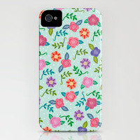 Floral Boutique iPhone Case by Anna Deegan | Society6