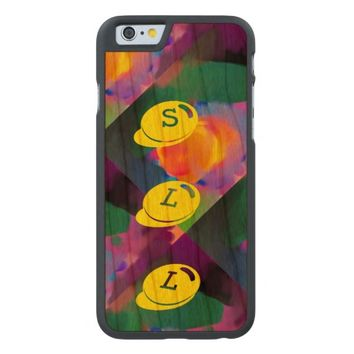 Awesome and Colorful Monogram Design Case