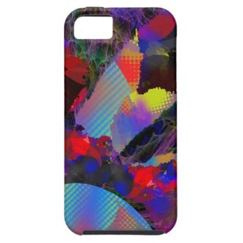 Abstract Art Collage Phone Case