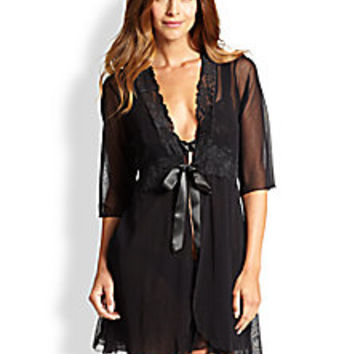 Cosabella - Fetherston Sheer Robe - Saks Fifth Avenue Mobile