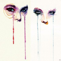 Fancy - Marion Bolognesi Watercolor Faces marion-bolognesi-painting-3 ? Trendland: Fashion Blog & Trend Magazine
