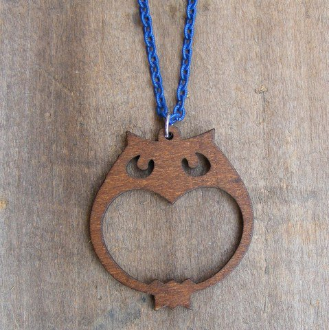 Fancy - Tigertree Wooden Owl Necklace | Tigertree Wooden Owl Necklace