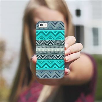 Mix #180 - Blue Aztec Pattern iPhone 5s case by Orna Artzi | Casetify