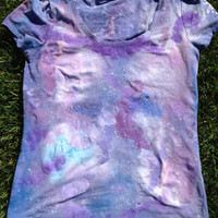 Lavender Galaxy T-Shirt - Medium