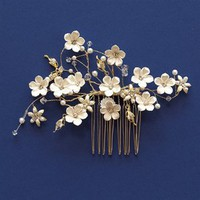 Unveiled Bridal | Stylish Wedding Essentials and Accessories. Flowered Comb