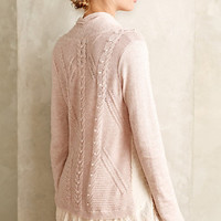Ismare Cabled Cardi by Knitted & Knotted