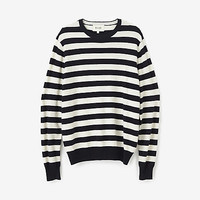 STRIPED JONATHAN SWEATER