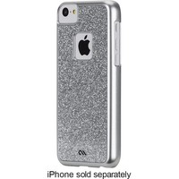 Case-Mate - Glimmer Case for Apple® iPhone® 5c - Silver
