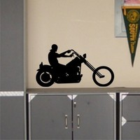 Chopper - Wall Decal Art