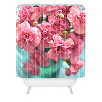 Lisa Argyropoulos Pink Carnations Shower Curtain