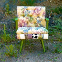 Boho Floral Patchwork Rocking Chair by Vintage Renewal | Vintage Renewal