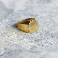 Lovebullets Hexagon Ring - Urban Outfitters