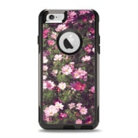 The Vintage Pink Floral Field Apple iPhone 6 Otterbox Commuter Case Skin Set