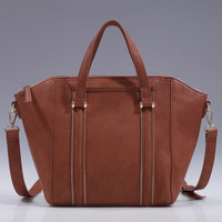 Eleanor Handbag - Cognac