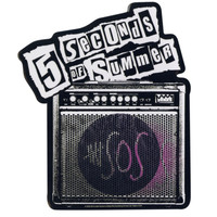 5 Seconds Of Summer Amp Sticker