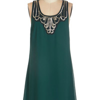 ModCloth Mid-length Tank top (2 thick straps) Shift Idea on Arrival Dress