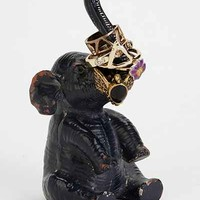 Elephant Ring Holder- Black One