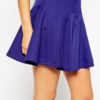 ASOS Skater Skirt with Panelled Seams