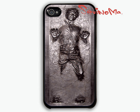 Han Solo Carbonite - iphone 4 case, iphone 4s case, iphone hard case