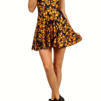 Attack of the Monarchs Skater Dress