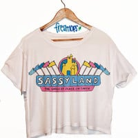 SassyLand Crop Shirt