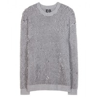 Wool sweater with sequins