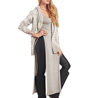 Cozy Diamond Hooded Cardi | Wet Seal