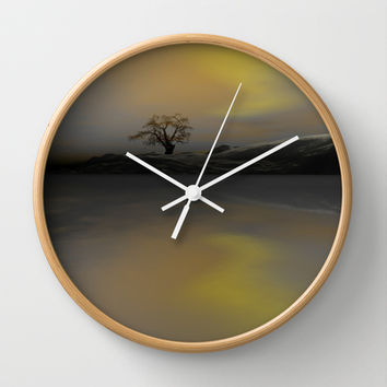 Fantasy Visions Wall Clock by Texnotropio | Society6