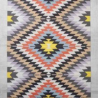 Magical Thinking Woven Elmas Kilim Rug - Urban Outfitters