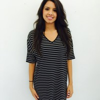 Striped Oversized Dress from shopoceansoul