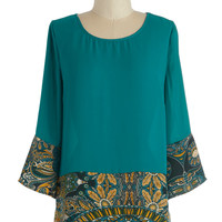 ModCloth Mid-length 3 Quill Power Top