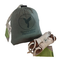 Double Hammock and Tree Strap Bundle