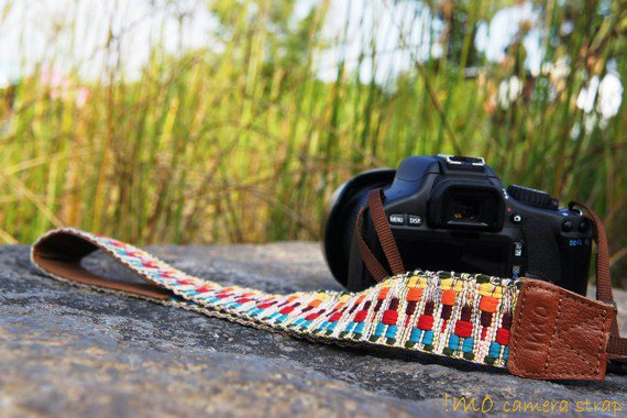 People camera strap for DSLR / SLR