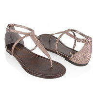 Glittered Thong Sandals - New Arrivals - Shoes - 2076807581 - Forever21