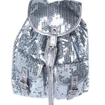sequin backpack - debshops.com