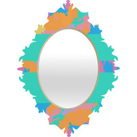 Rosie Brown The Color Green Baroque Mirror