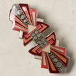 Sky-Sent Barrette by France Luxe Red One Size Hair