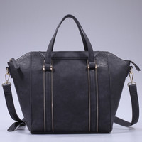 Eleanor Handbag - Charcoal